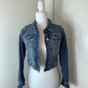 Mossimo Supply Co. Short Jean Jacket. Size XS